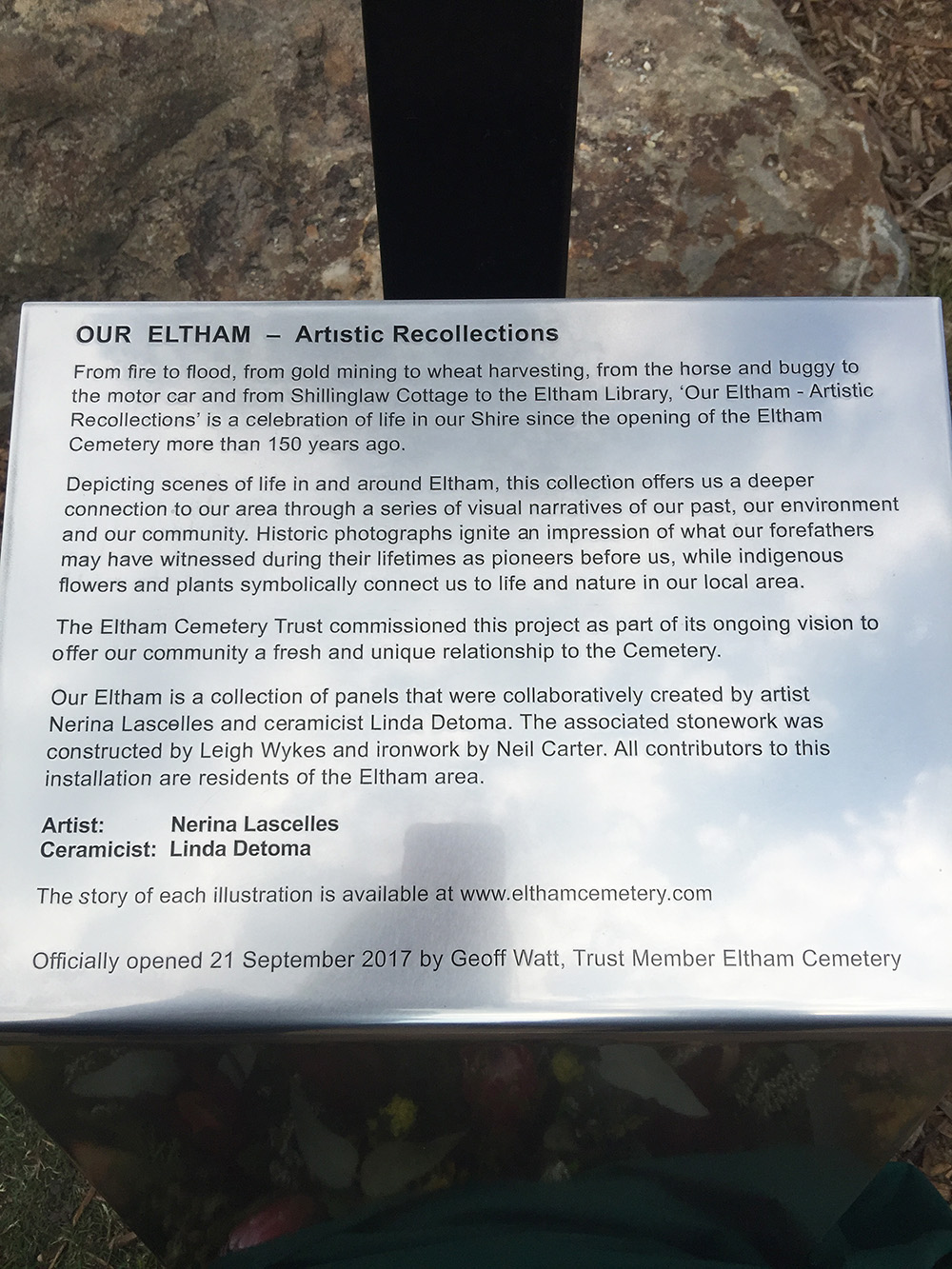 Our Eltham description 72